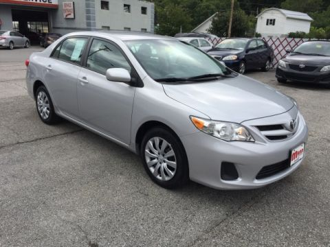 Pre-Owned 2012 Toyota Corolla L Front-wheel Drive Sedan